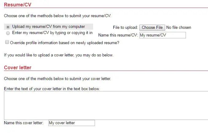 cvs-resume-cv-cover-letter - JobApplicationsnet