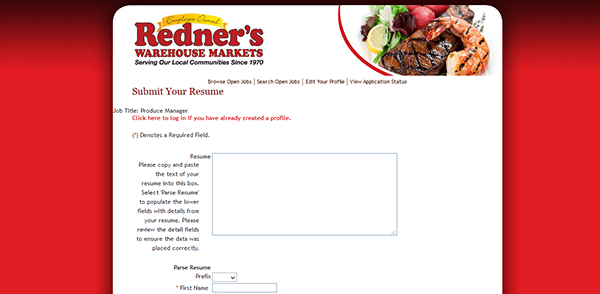 Acme Insulations Home Redners Markets Job Application Apply Online