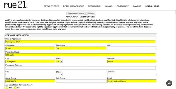Foot Locker Job Application Form Online | Best Resumes Curiculum ...