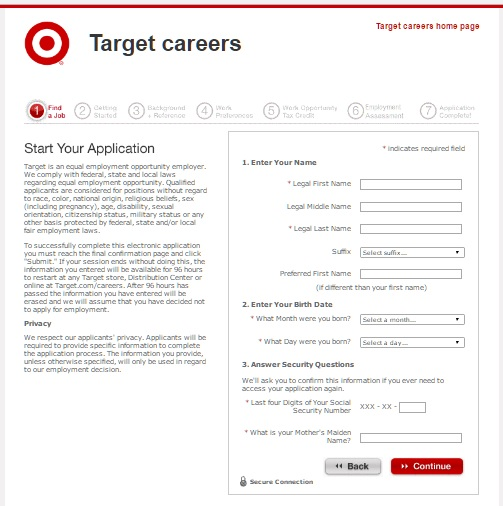 target-job-application - JobApplicationsnet