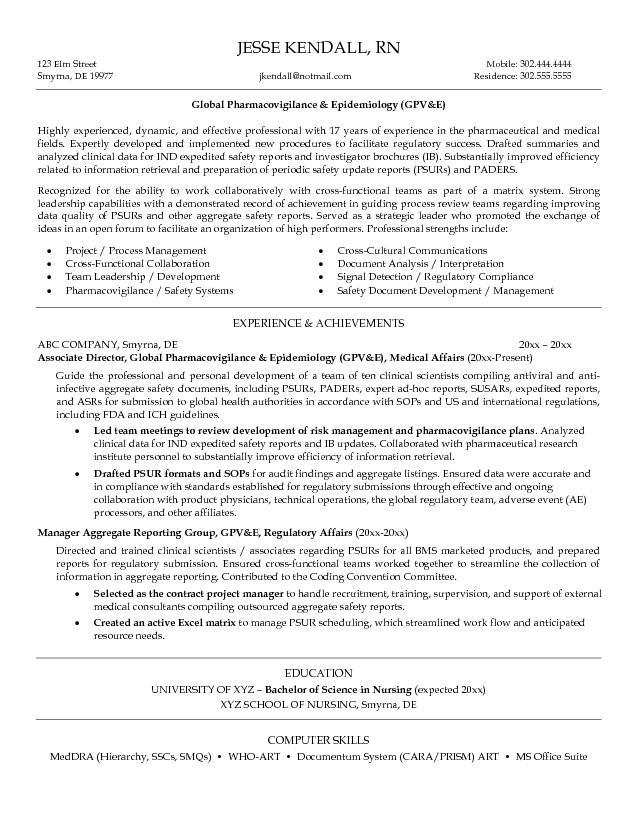 Free GPVE Resume Example
