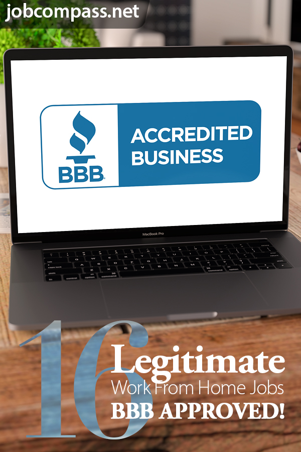 16 Work at Home Companies with an A+ Rating on the BBB Website