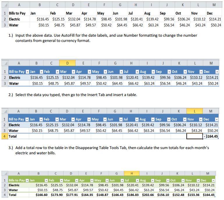 Excel JobMap