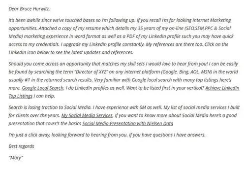 Social Media Cover Letter  ResumeletterPaasLeviracloudEu