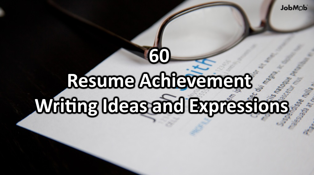 60 Big Achievement Ideas and Expressions To Boost Your Resume - fixed base operator sample resume