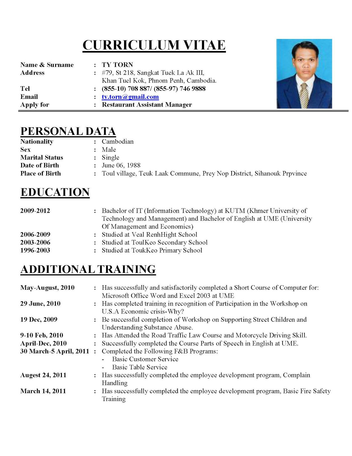 sample of curriculum vitae for housekeeping resume builder sample of curriculum vitae for housekeeping housekeeping resume samples online cv builder and few tips on