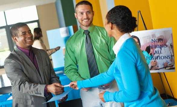 How to transform a job fair to a job offer - what to ask at a job fair
