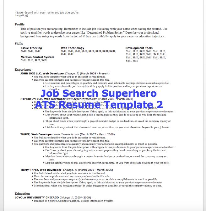 ats vs resume