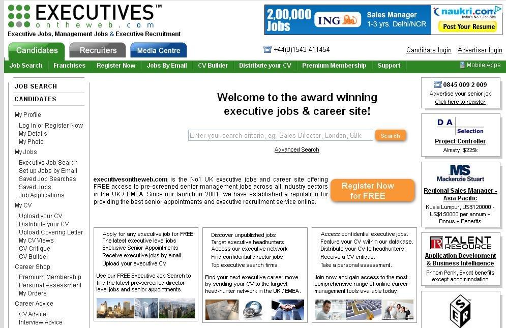 Top Job sites in UK