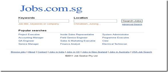 Top 10 Job sites in Singapore