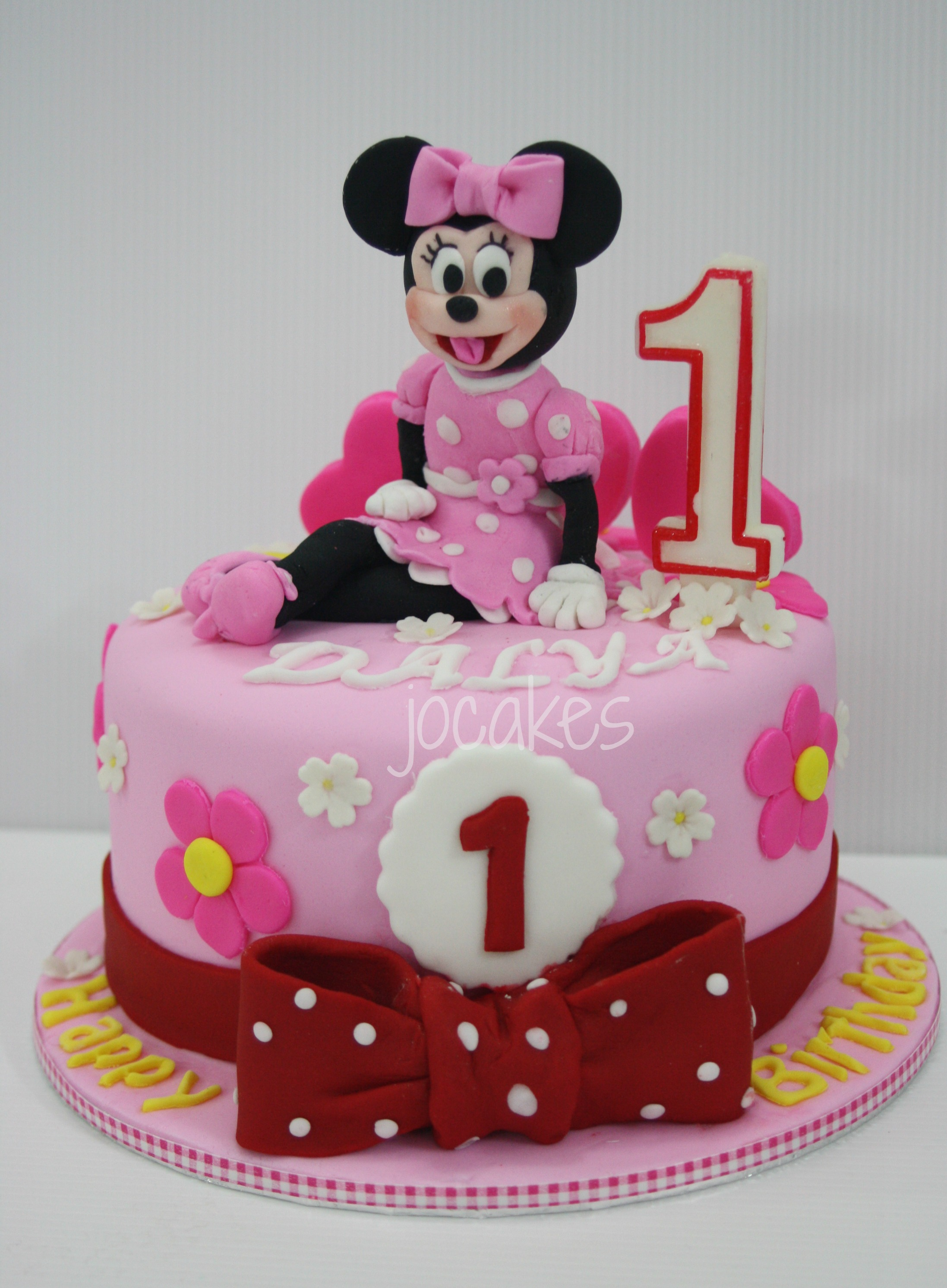 Minnie Maus Kuchen Deko August | 2013 | Jocakes