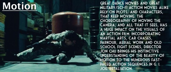 G.I. Joe Retaliation motion