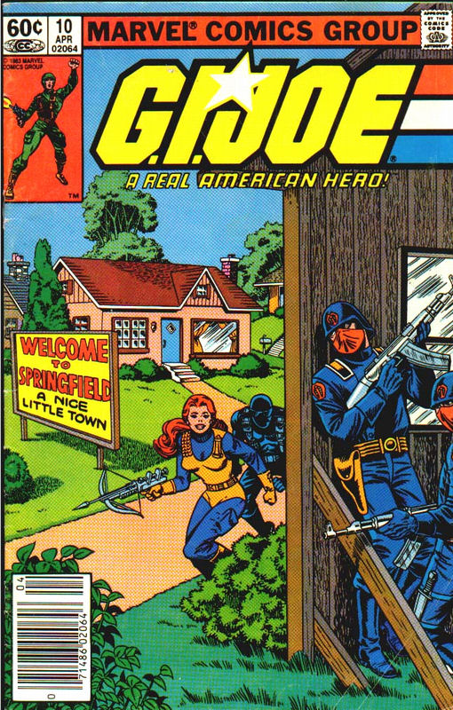 G.I. Joe #10 Welcome to Springfield