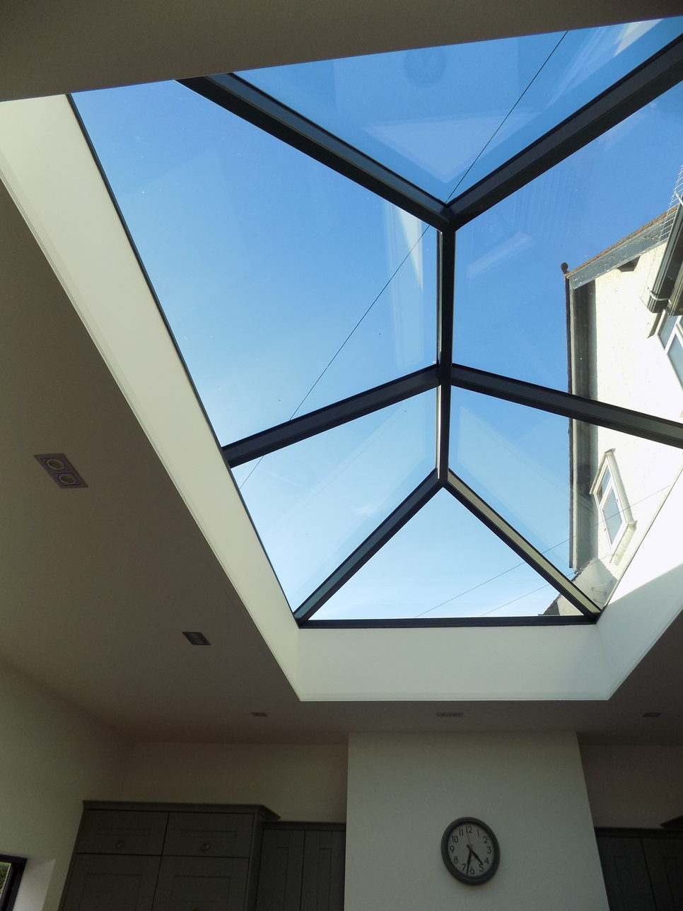 Glass Roof Extension Modern Extension With Glass Roof Lantern Joe Bonner