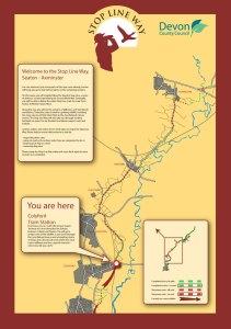 Stop Line Way map illustration