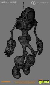 Astro Zombie WireFrame