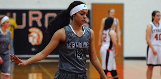 Armstrong International Girls Basketball Player of the Week: Three Rivers' Krishanna Carter
