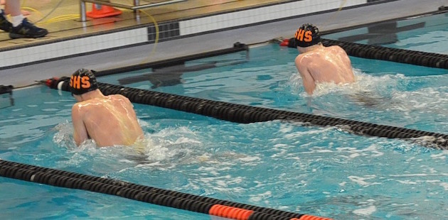 Sturgis swimmers take third, Little, Lang and Stanke claim individual titles at league championship