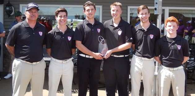 White Pigeon golf team claims victory at Sturgis Invitational