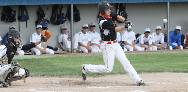 Sturgis offense silenced in district baseball loss to Harper Creek