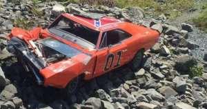 Crashed-General-Lee-Clone-Car-Dodge-Charger-Nova-Scotia-2