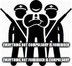 compulsoryforbidden