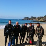 Last dive group photo before they were AOW certified