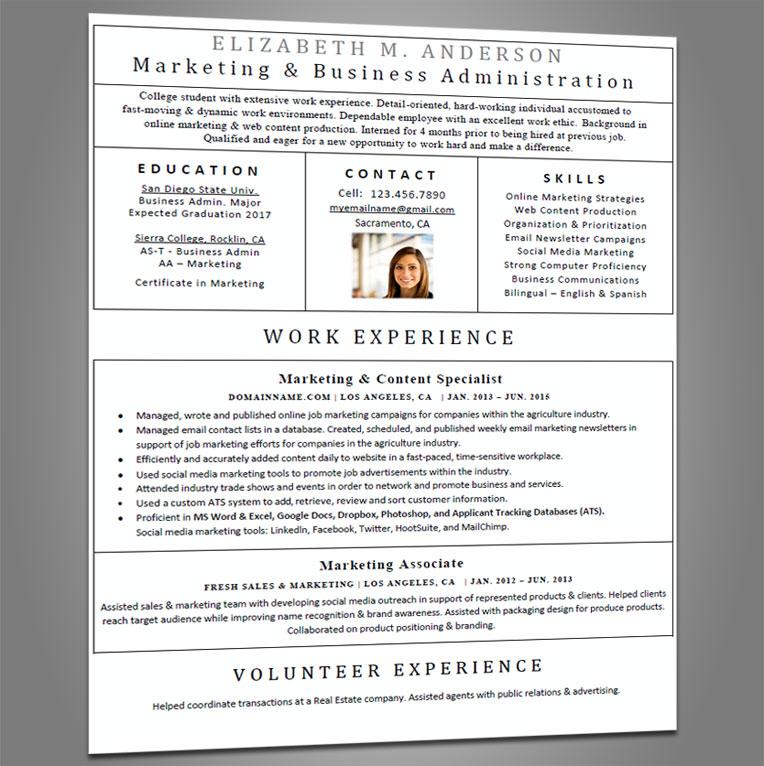 Entry Level Resume - Joe Pro Resumes - how to write entry level resume