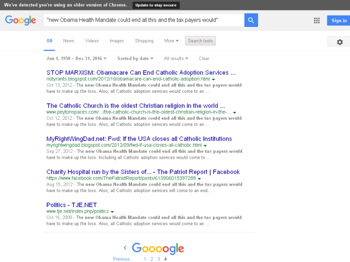 """Earliest Google result for """"An Eye Opener"""" email: https://archive.is/jO20n"""