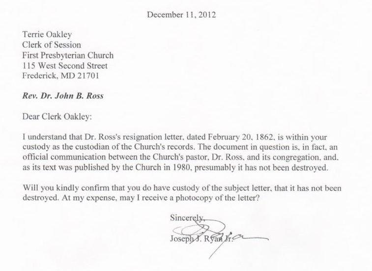 Church Resignation Letter – Ministry Resignation Letter