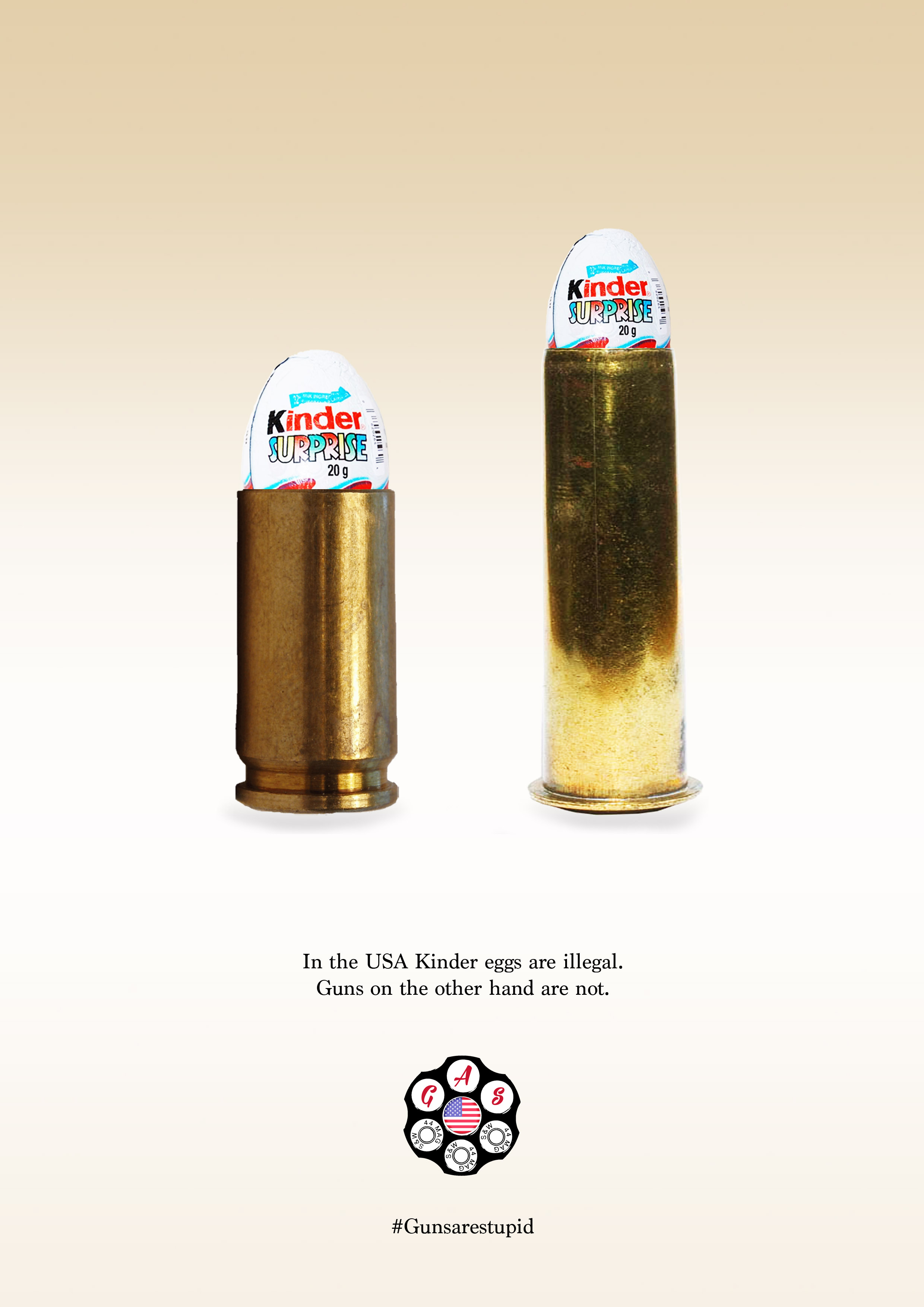 Kinder Egg Illegal Our New Campaign To Make Guns Illegal Joesponderblog