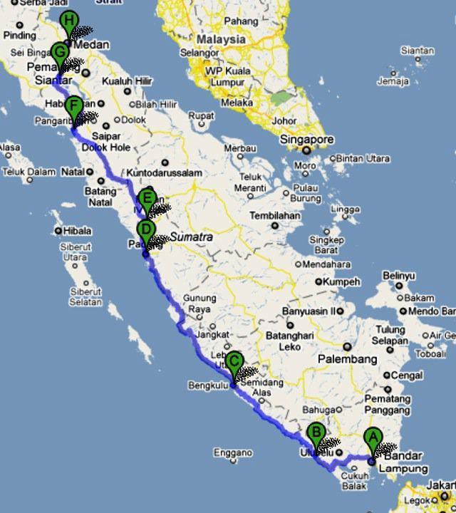 Peta Rantau Prapat Data Prasarana Bandara Sumatra Tour Jakarta Medan Vv Rute Pantai Barat Dan Lintas Timur