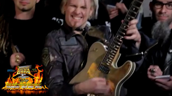 Golden Gods Commercial John 5