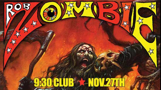 Rob Zombie 9:30 Club