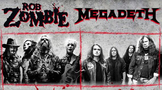 Rob Zombie Megadeth