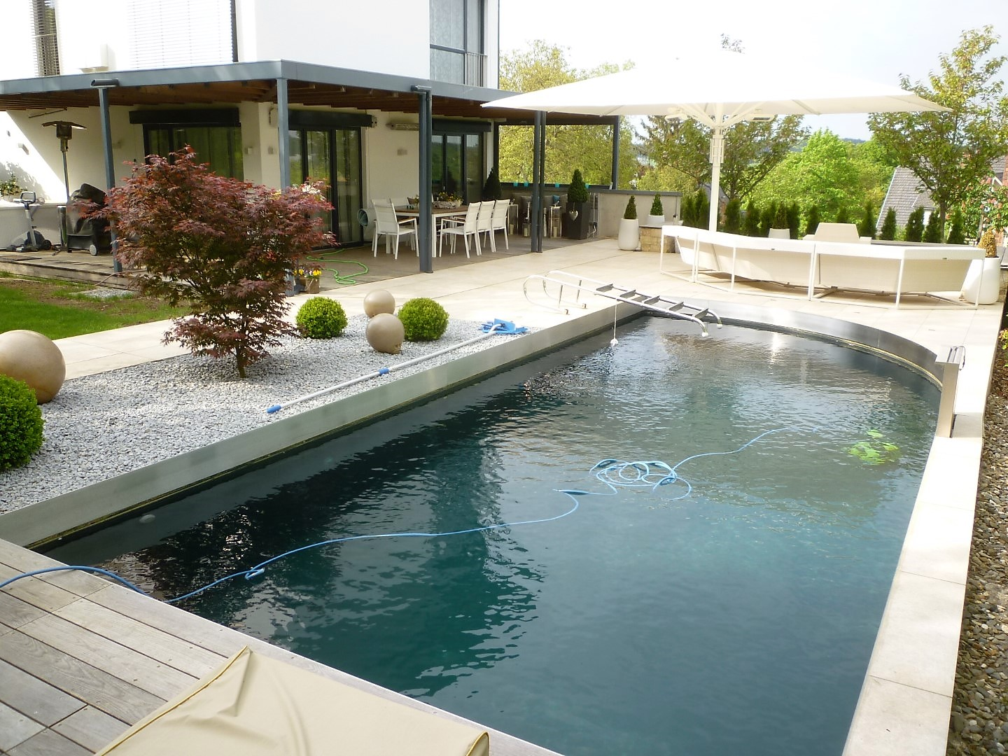 Living Pool Pflege Pflege And Service Naturpools And Service John Galabau