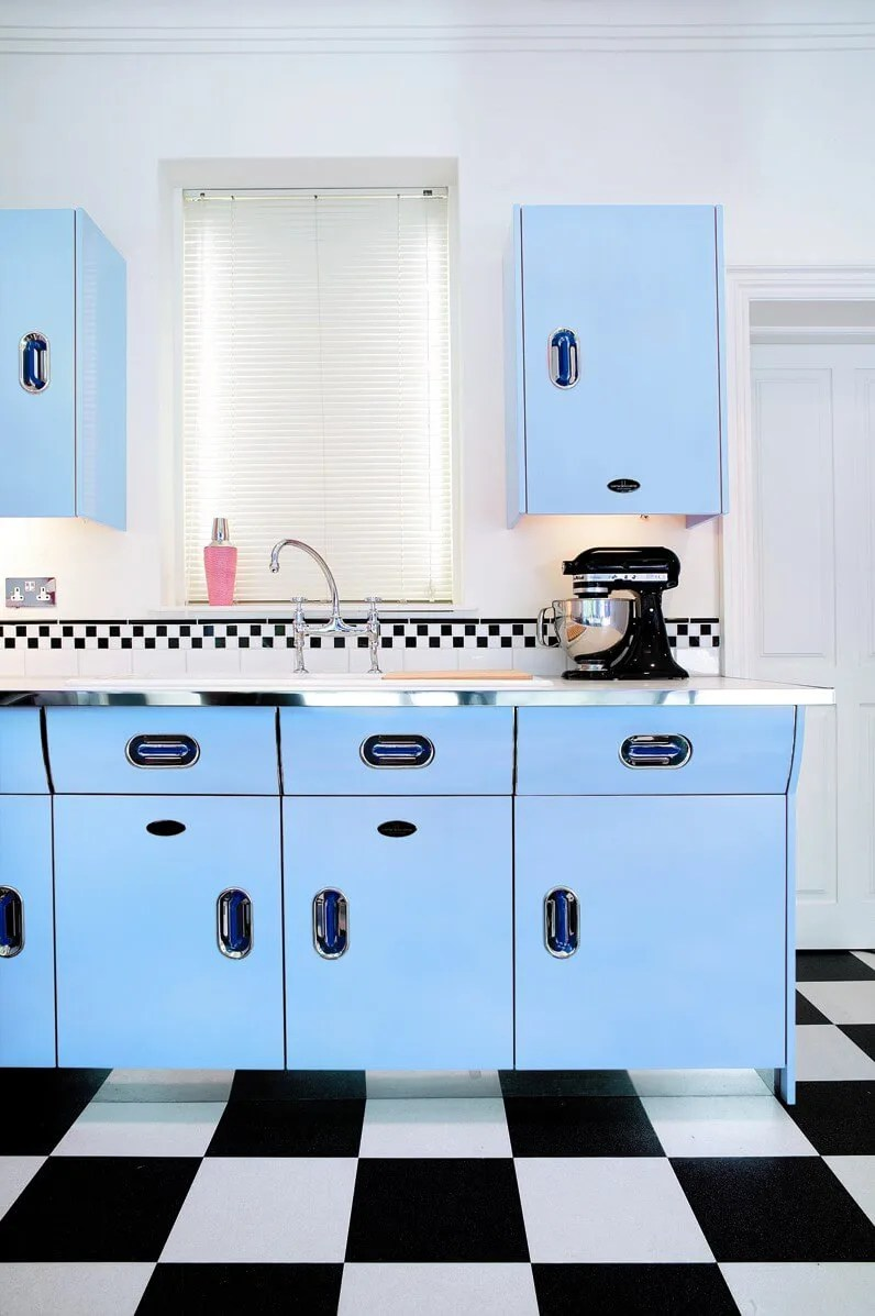 Bespoke Retro Style Kitchens John Lewis Of Hungerford