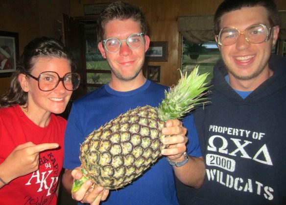 Rachel Wass, Corey Pennington, & Christian Malone having fun