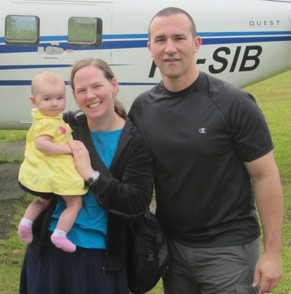 Jason, Cherith, & Grace Ottosen