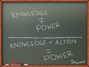 Knowledge 'n Action Equal Power
