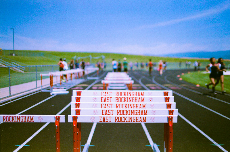 May 31, 2016. Expired 35mm Film. Millers Lab. Region 2A East Track and Field Meet.