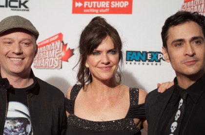 Marc Walters, Jennifer Hale, Mark Meer