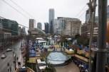 Zipline over Robson Square