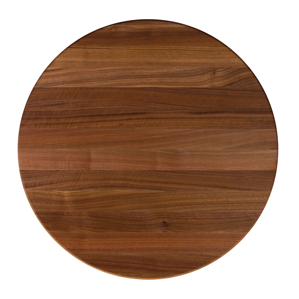 Round Table Tops Dining Table Tops Round Solid Black Walnut Butcher Block Dining