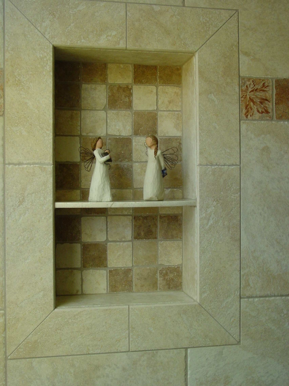 Tile Shower Shampoo Niche Soap Dish And Shampoo Recess