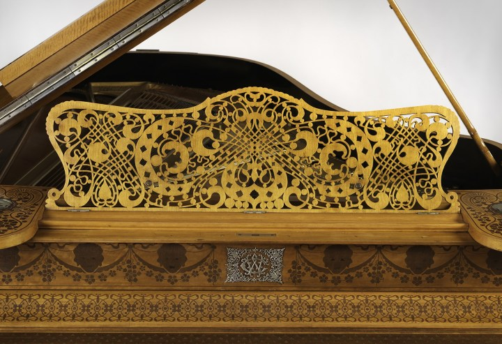 Schastey Piano Case Detail (photo courtesy of Metropolitan Museum of Art)