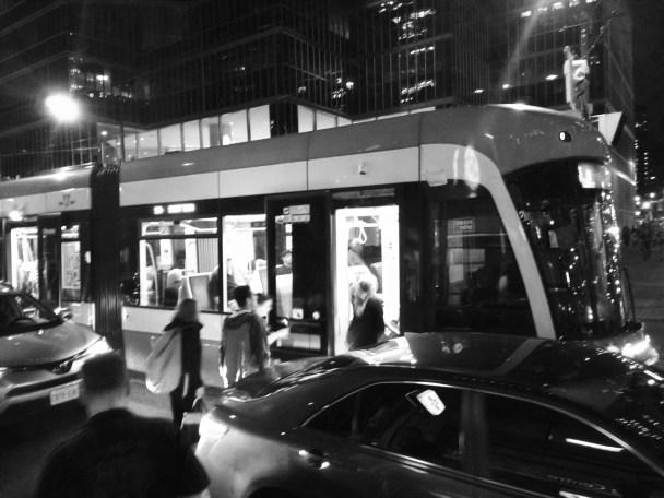 late night streetcar