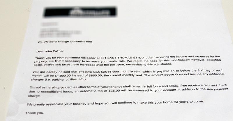 2014 AprilLittle Haus, Big CityLittle Haus, Big City - rent increase letter