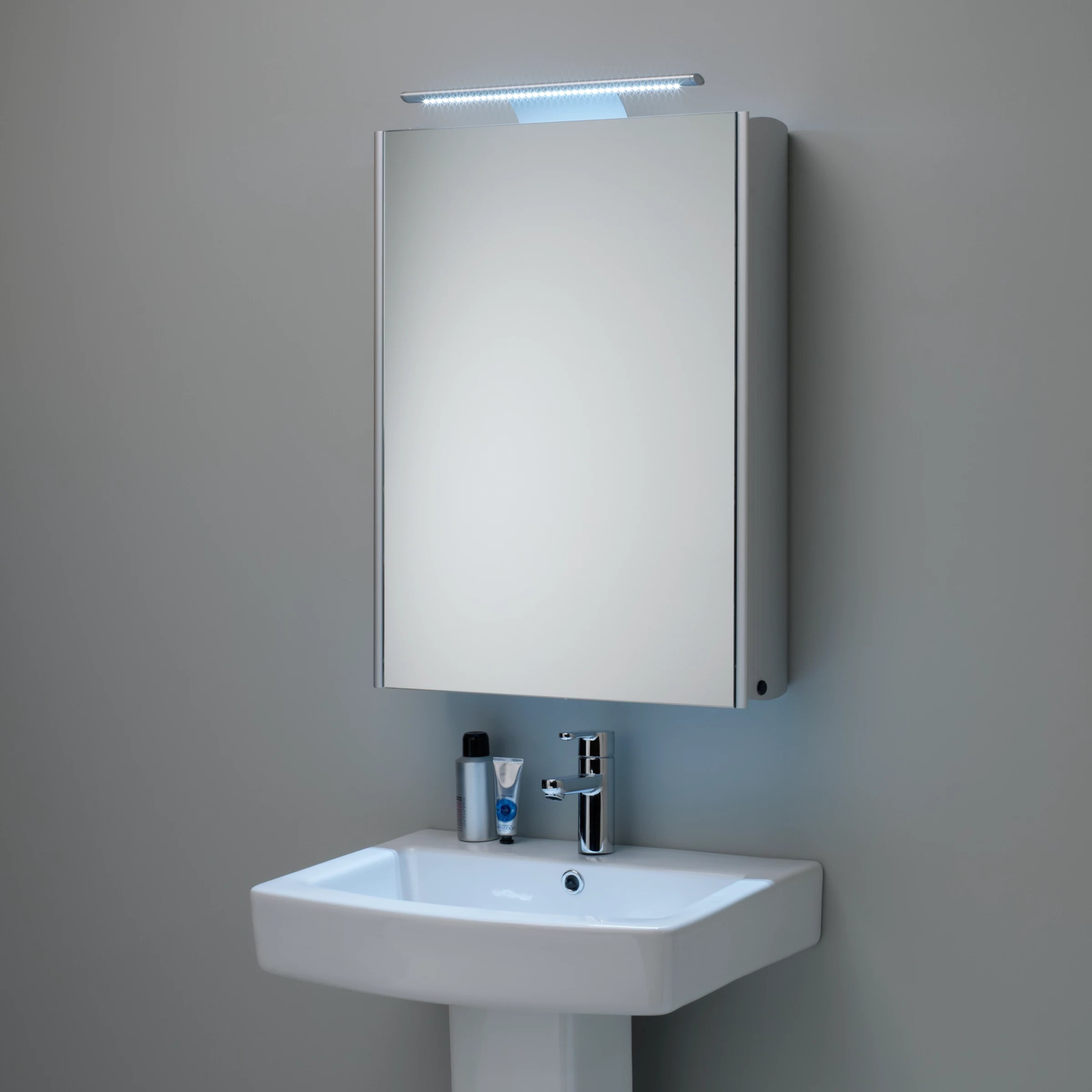 Mirrored Bathroom Cupboard Buy Roper Rhodes Equinox Illuminated Single Mirrored