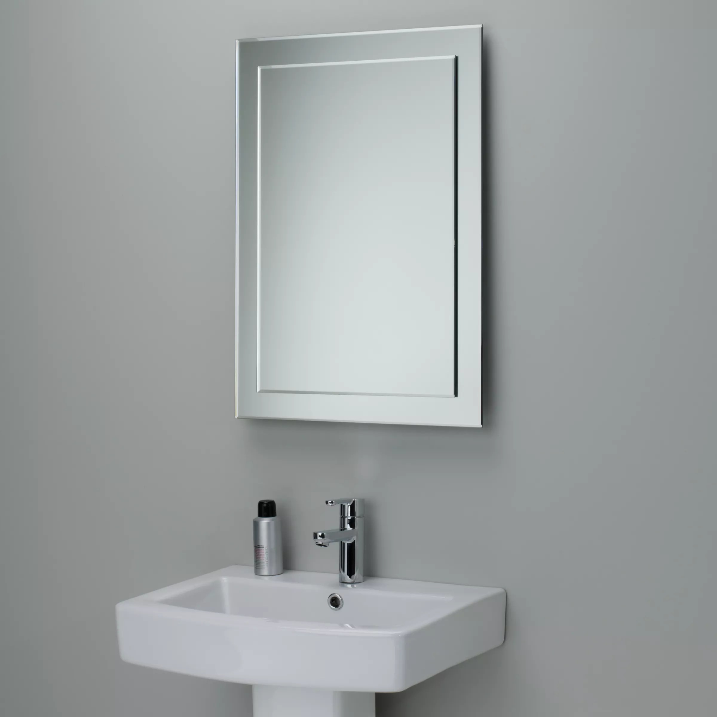 Buy john lewis duo wall bathroom mirror 70 x 50cm john